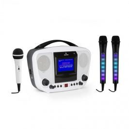 Auna KaraBanga + DAZZLE mikrofonní sada, karaoke zařízení, mikrofon, bluetooth, TFT displej
