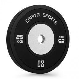 CAPITAL SPORTS Inval Hi-Grade Competition, kotoučové závaží, 50mm hliníkové jádro, guma, 25 kg