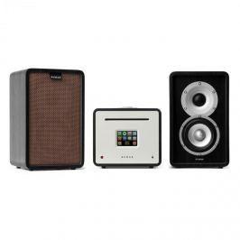 Numana Unision Retrospective 1979 S Edition - stereo zařízeni, zesilovač, reproduktory + kryt