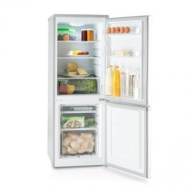 Klarstein Bigpack, kombinovaná chladnička, mrazák, 160 l, A +, 42 dB, stříbrná