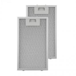 Klarstein tukový filtr, náhradní filtr, hliník, 18,5x31,8 cm, 2 kusy, příslušenství