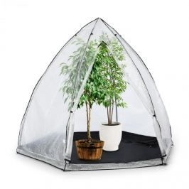 Waldbeck Greenshelter M, skleník, na přezimování rostlin, 240x200 cm, ocelové tyče Ø 25 mm, PVC