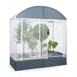 Waldbeck Plant Palace, skleník, 200 x 220 x 100 cm, ocelové tyče Ø 25 mm, PVC mřížkované fólie
