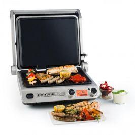 Klarstein Grand Gourmet 3-V-1 kontaktní gril, 2000W, 160-230 ° C, sklokeramiky, černá barva