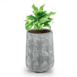 Blumfeldt Luxoflor, květináč, 55 x 70 x 55 cm, sklolaminát, do interiéru i exteriéru, tmavě šedý