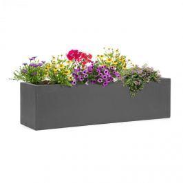 Blumfeldt Blumfeld Solidflor, květináč, 75 x 20 x 20 cm, outdoor/indoor, tmavě šedý