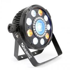 Beamz BeamZ BX94 Par 9x 6 W 4V1 RGBW LED, stroboskop S 24 SMD LED diodami, dálkové ovládání