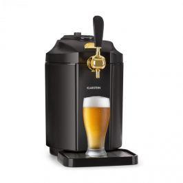 Klarstein Skal, výčepní zařízení, chlazení piva, 5 l sud, CO2, ušlechtilá ocel, černá barva