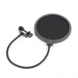 Vonyx M06 mikrofonní pop filtr 6'' ochranná clona, flexibilní husí krk