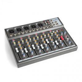 Vonyx VMM-F701, mixážní pult, 5x mono mikrofónový/line vstup, stereo line vstup/výstup