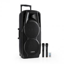 Vonyx SPX-PA9210 SOUND SYSTÉM 2x10 '' USB, SD / MMC BLUETOOTH NABÍJECÍ BATERIE 4 - 6H