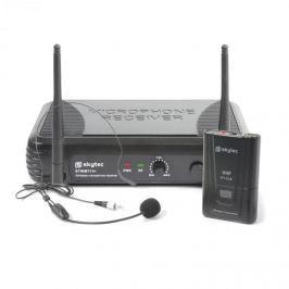 Skytec STWM711H MIKRO HEADSET VHF TECHNIKA, VYSÍLAČ, PŘIJÍMAČ A HEADSET, ČERNÁ BARVA