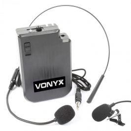 Vonyx VPS10BP UHF HEADSET, vysílačková sada Sk UHF systémům a PA zařízením