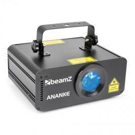 Beamz ANANKE LASER 3D červený a modrý, MDX/ Sand-Alone režim, dálkové ovládání