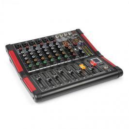 Power Dynamics PDM-M604, mixážní pult, 6x mikrofonní vstup, 24-BIT MULTI-FX-PROCESOR