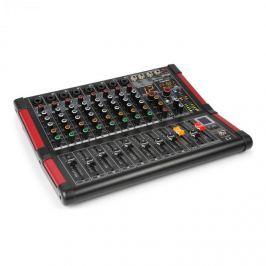 Power Dynamics PDM-M804, mixážní pult, 8x mikrofonní vstup, 24-BIT MULTI-FX-PROCESOR