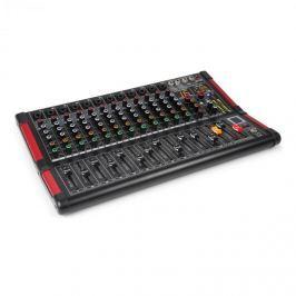Power Dynamics PDM-M1204, mixážní pult, 12x mikrofonní vstup, 24-BIT MULTI-FX-PROCESOR