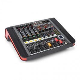 Power Dynamics PDM-M404A, mixážní pult, 4 mikrofonní vstup, 24-BIT MULTI-FX-PROCESOR, USB přehrávač