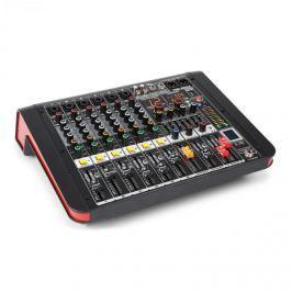 Power Dynamics PDM-M604A, mixážní pult, 6 mikrofonní vstup, 24-BIT MULTI-FX-PROCESOR, USB přehrávač