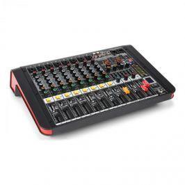 Power Dynamics PDM-M804A, mixážní pult, 8x mikrofonní vstup, 24-BIT MULTI-FX-PROCESOR, USB přehrávač