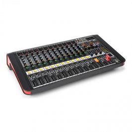 Power Dynamics PDM-M1204A, mixážní pult, 12x mikrofonní vstup, 24-BIT MULTI-FX-PROCESOR, USB přehrávač