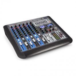 Power Dynamics PDM-S804, 8-kanálový mixážní pult, DSP / MP3, USB port, Bluetooth přijímač