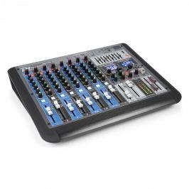 Power Dynamics PDM-S1204, 12-kanálový mixážní pult, DSP / MP3, USB port, Bluetooth přijímač
