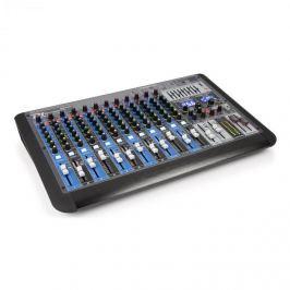 Power Dynamics PDM-S1604, 16-kanálový mixážní pult, DSP/MP3, USB port, bluetooth přijímač