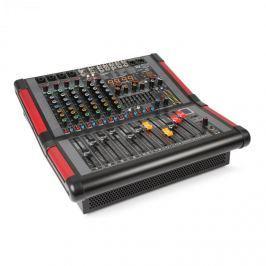 Power Dynamics PDM-S804A, 8-kanálový mixážní pult s integrovaným zesilovačem (2x 350W RMS)