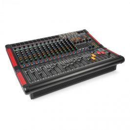 Power Dynamics PDM-S1604A, 16-kanálový stage mixážní pult s integrovaným zesilovačem (2x 350W RMS)
