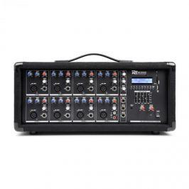 Power Dynamics PDM-C805, 8-kanálový mixér se zesilovačem, USB a SD slot