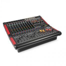Power Dynamics PDM-S1204A, 12-kanálový stage mixážní pult s integrovaným zesilovačem (2x 350W RMS)