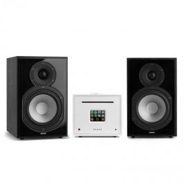 Numana Unison Reference 802 Edice - All-in-One stereo systém, včetně 2 reproduktorů, bílá/černá