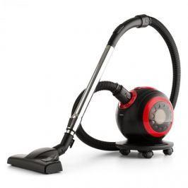 Oneconcept Pila, vysavač 800 W, bezsáčkový, prací HEPA filtr, třída H11, 18 KPA, černá/červená