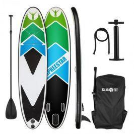 Klarfit Spreestar 325, nafukovací paddleboard, SUP set, 325 x 15 x 86 cm, černo-modrý