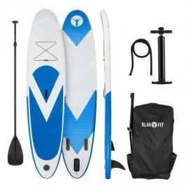 Klarfit Spreestar, nafukovací paddleboard, SUP-board-set, 300 x 10 x 71 cm, modro-bílá barva