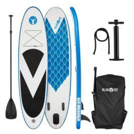 Klarfit Spreestar 320, nafukovací paddleboard, SUP-board-set, 320 x 12 x 81 cm, modro-bílá barva