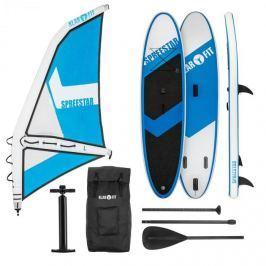 Klarfit Spreestar WL, nafukovací paddleboard, sup-board-set, 300x10x71, modro-bílá barva