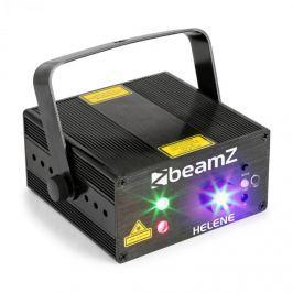 Beamz Helene Double laser RG, dvojitý laser, multibodový, IRC, 3W, modré led světlo
