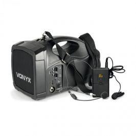Vonyx ST012 přenosný PA rádiový systém SMT USB BT MP3 12 Vdc Akku