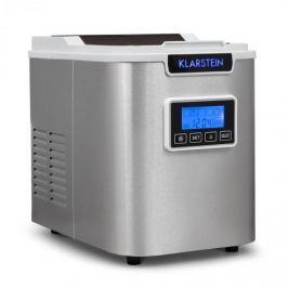 Klarstein ICE6 Icemeister, zařízení na přípravu kostek ledu, 12 kg / 24 hod., nerezová ocel, bílá
