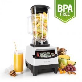Klarstein Herakles-5G, 1500 W, 2 litry, stolní mixér, bílý, green smoothie, bez BPA