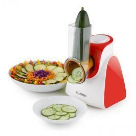 Klarstein Carrot & Rock, 150 W, červený, elektrický kráječ zeleniny, 5 nástavců