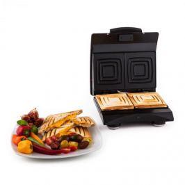 Klarstein SHU3-Sandwich-Buddy-, červený, toaster 700 W, 2 plotýnky, nerezová oce