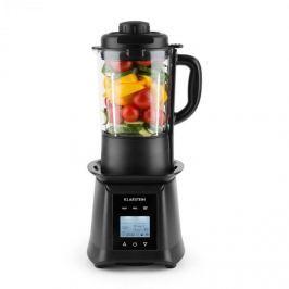 Klarstein Herakles Heat polévkový mixér, 1300 W / 1, 7 PS 900 W, 1,75 l, BPA-free, sklo, černý