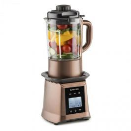 Klarstein Herakles Heat polévkový mixér, 1300 W / 1,7 k 900 W 1,75 l BPA free, sklo, barva kávy