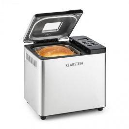 Klarstein Krümelmonster, stříbrná / černá, domácí pekárna, 550 W, 750 g, ušlechtilá ocel