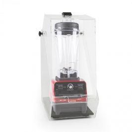 Klarstein Herakles 3G, červený, stolní mixér s krytem, 1500 W, 2,0 k, 2 litry, bez BPA