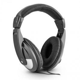 Skytec ST 120, 105dB, černá DJ sluchátka, umělá kůže, 2m kabel, adaptér