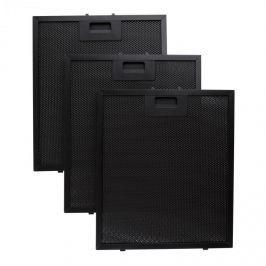 Klarstein Hliníkový filtr 26,5 x 31cm náhradní vyměnitelný filtr černá